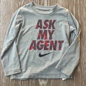 Nike long sleeve t-shirt 3T Dri Fit